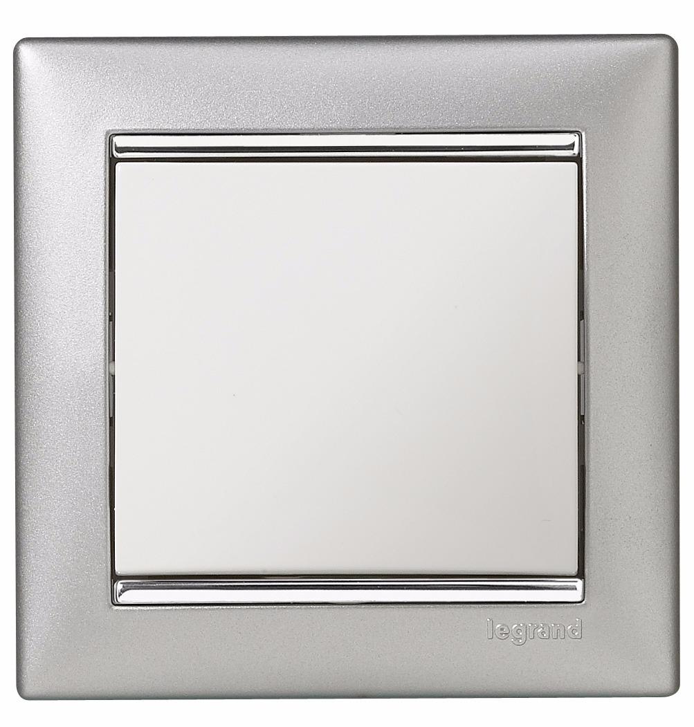 Legrand Valena Alumínium-ezüst keret